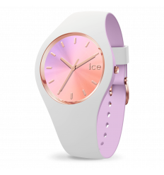 ICE WATCH DUO CHIC WHITE ORCHID