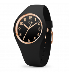 ICE WATCH GLAM BLACK ROSEGOLD S