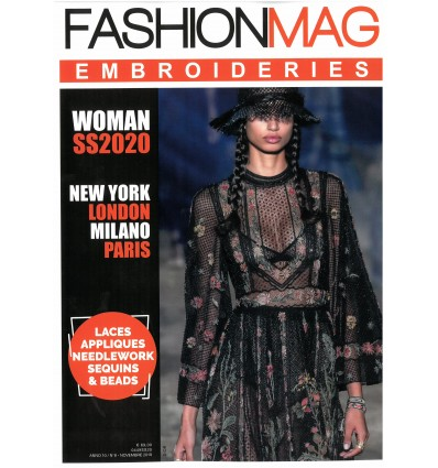 Fashion Mag Women Embroideries SS 2020