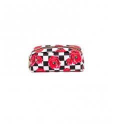 SELETTI CASE ROSES ON CHECK BY TOILET PAPER