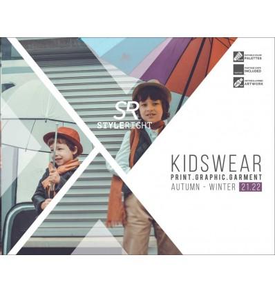 Style Right Kidswear Trendbook AW 2021-22 incl. USB