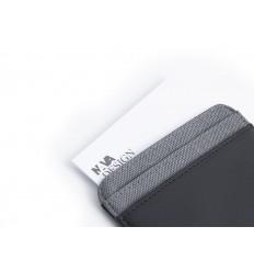 NAVA Twin Portafoglio 4 cc con portamonete e RFID