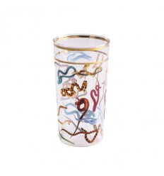 SELETTI BICCHIERE ALTO SNAKES BY TOILET PAPER