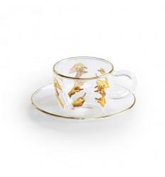 SELETTI SET CAFFE' IN VETRO LIPSTICKS BY TOILET PAPER