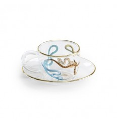 SELETTI SET CAFFE' IN VETRO SNAKES BY TOILET PAPER
