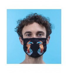 SELETTI FACEMASK HANDS WITH SNAKES MISURA M-L