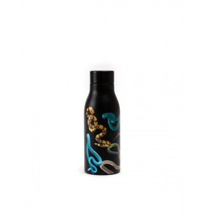 SELETTI THERMAL BOTTLE SNAKES BY TOILET PAPER
