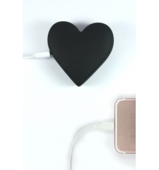 MOJIPOWER BLACK HEART POWER BANK 2600 mAh.
