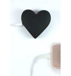 MOJIPOWER BLACK HEART POWER BANK 2600 mAh € 29,90 Miglior Prezzo