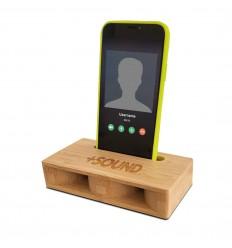 PIU' FORTY +SOUND AMPLIFICATORE SMARTPHONE IN LEGNO