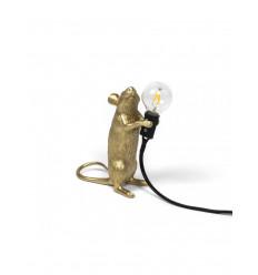 SELETTI MOUSE LAMP GOLD STEP USB