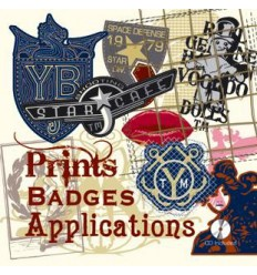 Prints Badges & Applications incl. CD-Rom