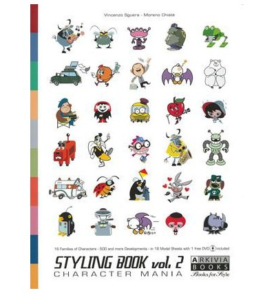 Styling Book Vol. 2 Character Mania incl. DVD
