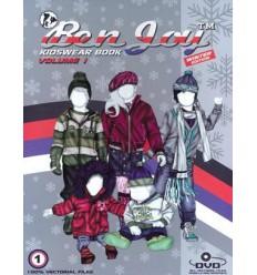 BENJOY KIDSWEAR BOOK VOL 1 INCL DVD WINTER EDITON