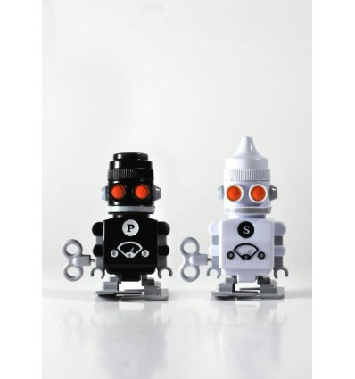 SUCK UK - SALE & PEPE ROBOT SET