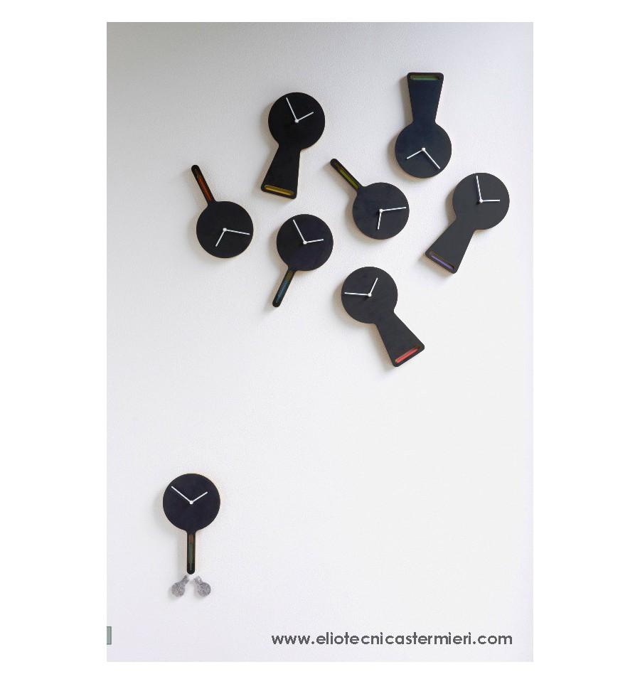 Orologio parete lavagna tablito tablita diamantini for Lavagna con orologio thun
