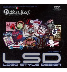 LSD GRAPHICS BOOK VOL.1 INCL. DVD
