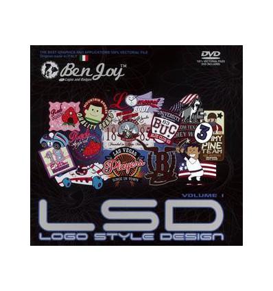 LSD GRAPHICS BOOK VOL.1 INCL. DVD
