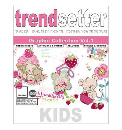 Trendsetter Kids Graphic Collection VOL 1 Incl DVD € 589,00