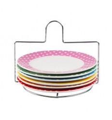 Present Time - Piattini colorati con pois € 36,00 Miglior Prezzo